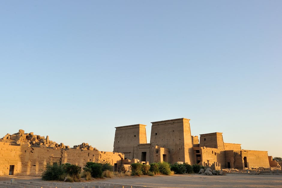one of Egypt's Temple