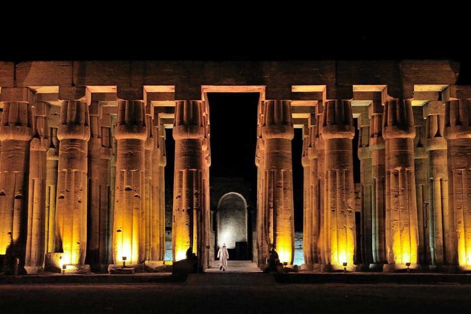 night at Egypt