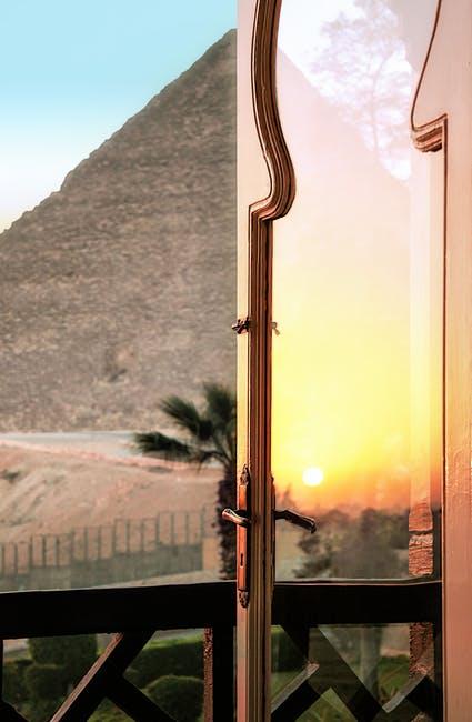 Settling Sun in Egypt